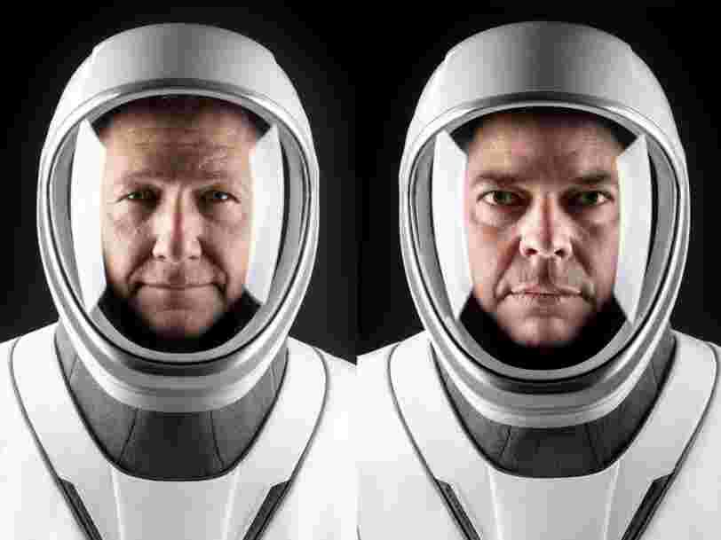 Voici comment se sont préparés les astronautes de la NASA Bob Behnken et Doug Hurley pour leur vol avec SpaceX