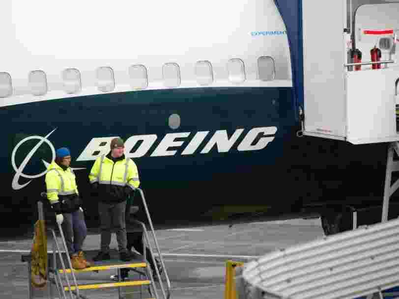 Boeing relance la production du 737 Max quelques heures après avoir déclaré qu'il allait licencier des milliers de salariés