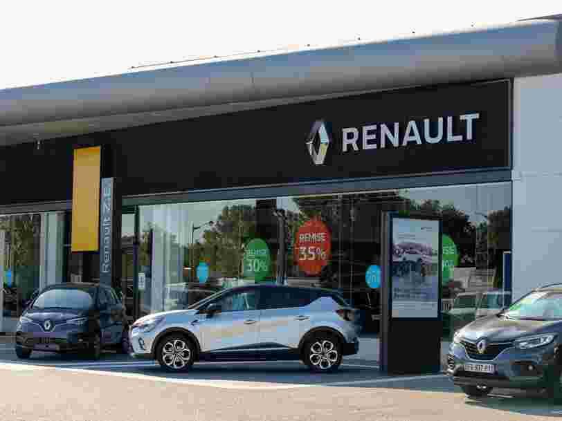 Renault annonce la suppression de 15 000 emplois dans le monde