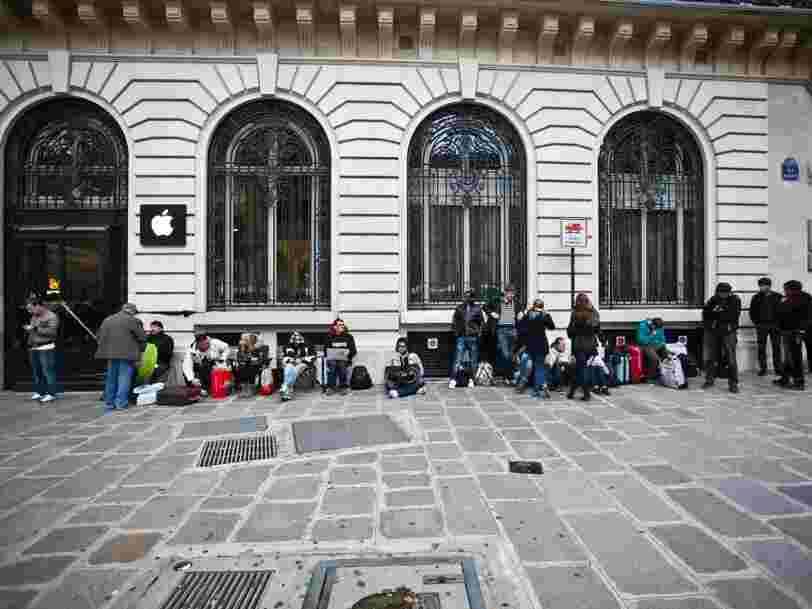 Les Apple Store devraient rouvrir le 9 juin en France