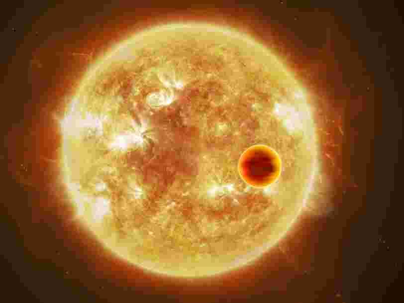 Il existe des exoplanètes vraiment inhospitalières avec des pluies de titane et des nuages d'oxyde d'aluminium
