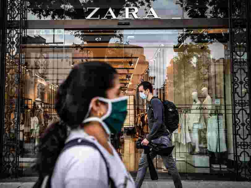 Chez Zara, vous pourrez bientôt réserver une cabine d'essayage sur votre smartphone