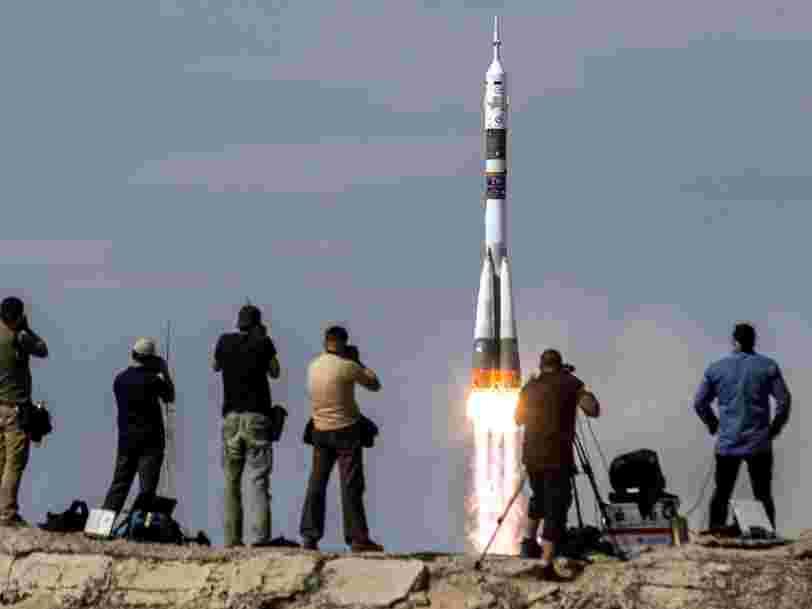 Le chef de l'Agence spatiale russe affirme que le Soyouz reste moins cher que les vaisseaux de SpaceX et Boeing