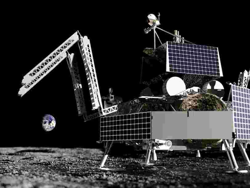 La NASA a choisi le premier rover américain qui atterrira sur la Lune en 48 ans et il s'agit d'un robot chasseur de glace