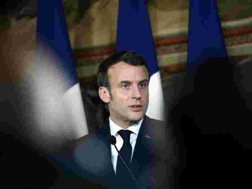 Emmanuel Macron annonce la réouverture totale des écoles et donne rendez-vous aux Français en juillet