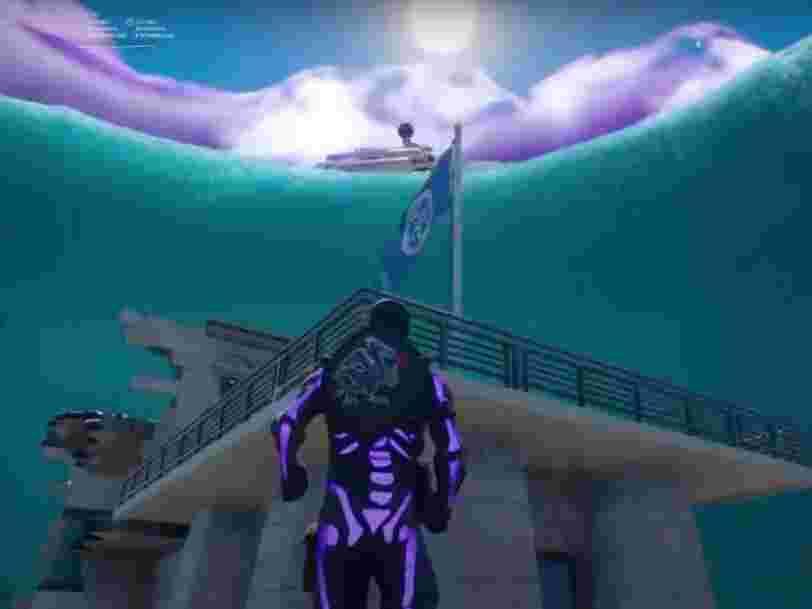 'Fortnite' saison 3 : les indices qui laissent imaginer une map submergée et l'arrivée d'Aquaman