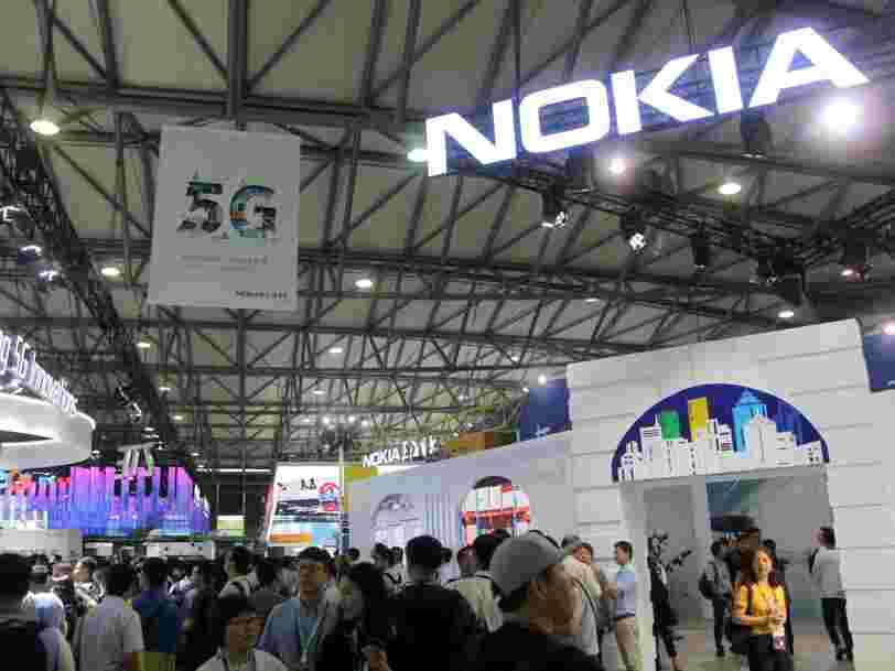 Nokia compte supprimer jusqu'à 1 200 emplois dans la R&D en France