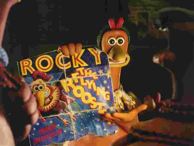 Netflix va diffuser la suite de 'Chicken Run', 20 ans après l'original