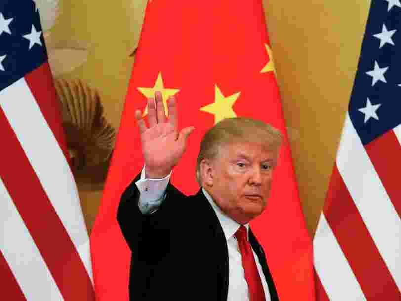 Des ressortissants chinois ayant des liens avec le gouvernement chinois ont fait des dons pour soutenir la réélection de Trump