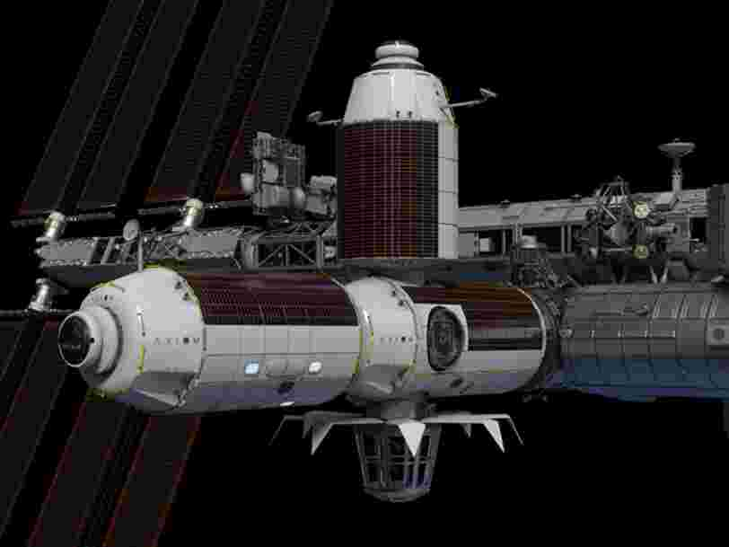 Thales Alenia Space construira le module d'habitat de la future station spatiale privée d'Axiom Space