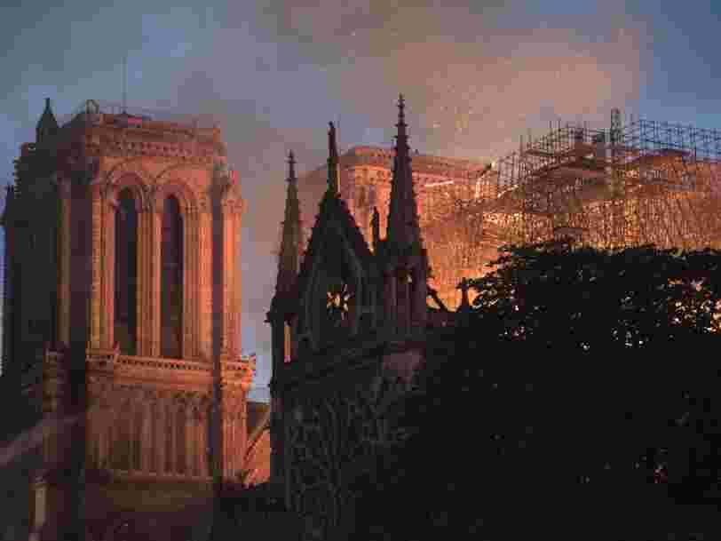 Netflix prépare une série sur l'incendie de Notre-Dame
