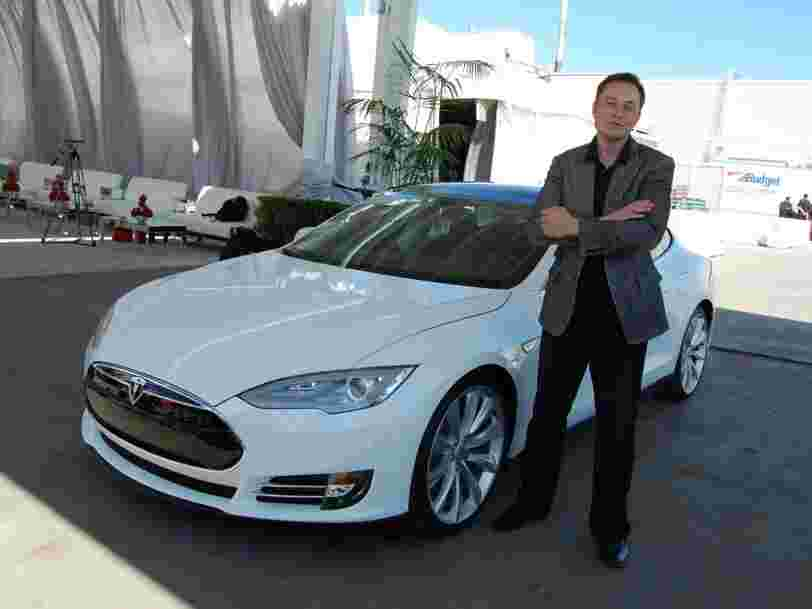 Tesla aurait découvert un défaut de conception dans sa Model S en 2012, tout en poursuivant sa production