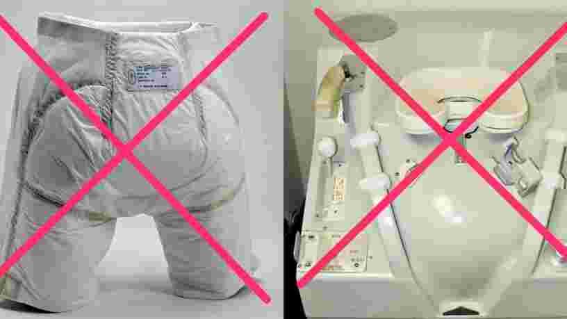 La NASA offre jusqu'à 20 000$ à quiconque peut concevoir de meilleures toilettes spatiales pour les astronautes qui iront sur la Lune