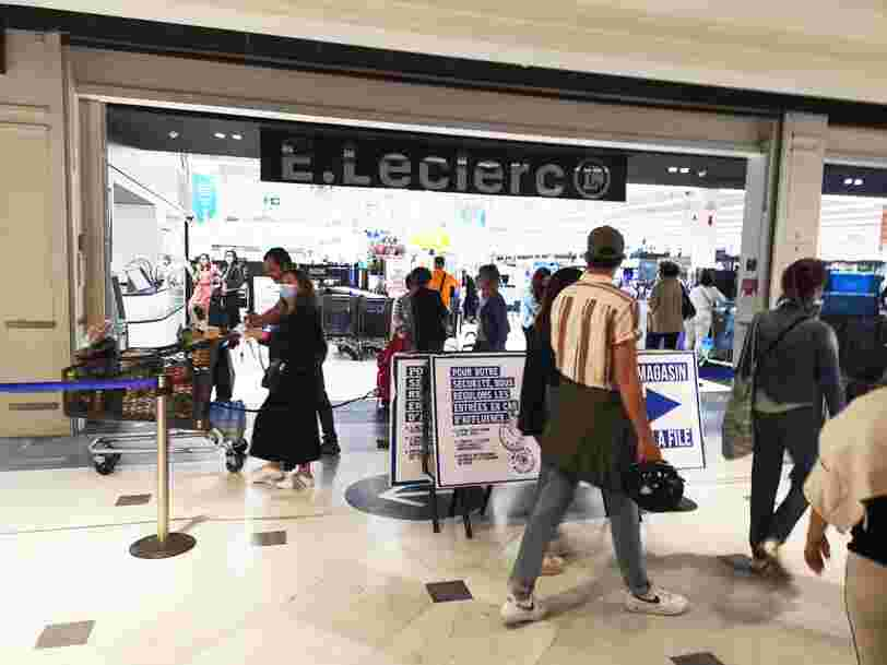 Leclerc reprend du poil de la bête, Carrefour et Casino sont toujours à la peine