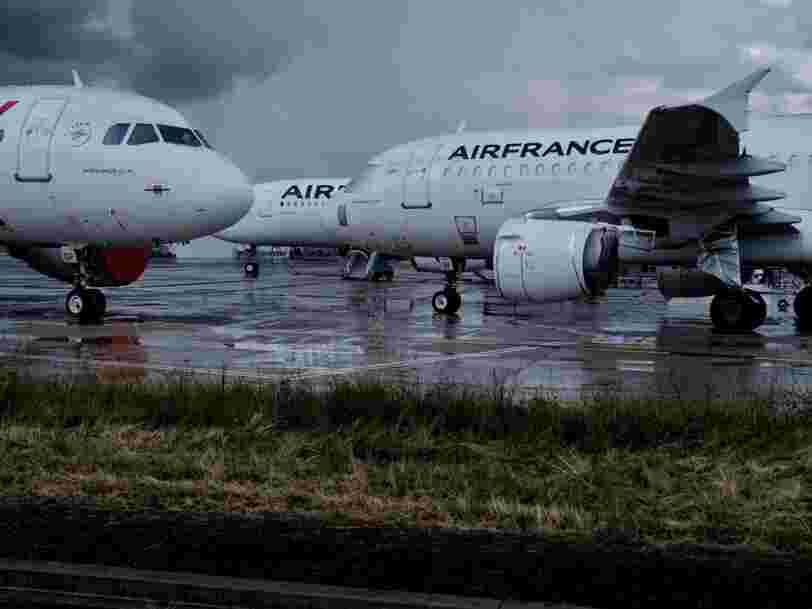 Air France devrait supprimer 7 500 postes pour faire face à la crise
