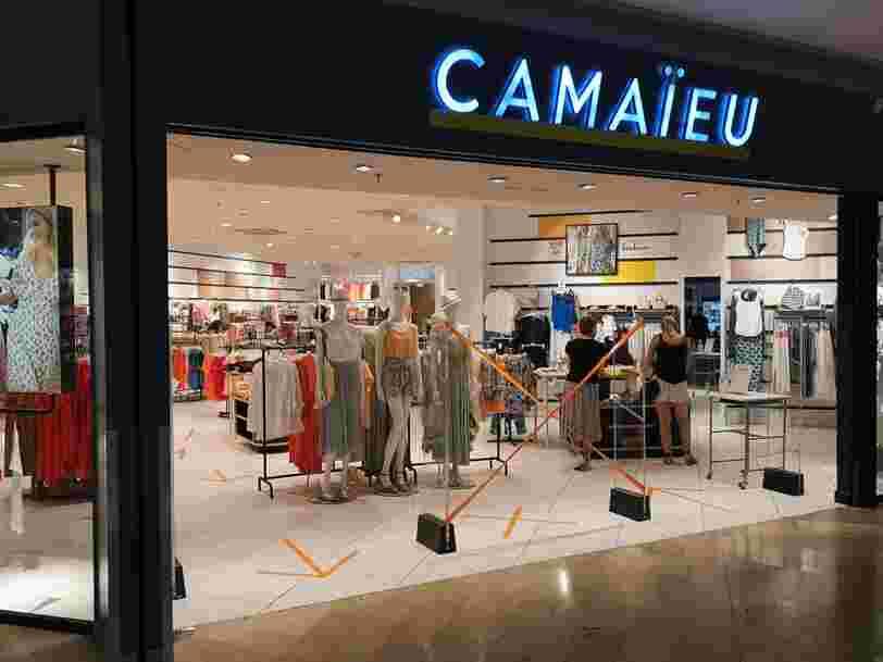 En redressement judiciaire, Camaïeu aurait reçu sept offres de reprise