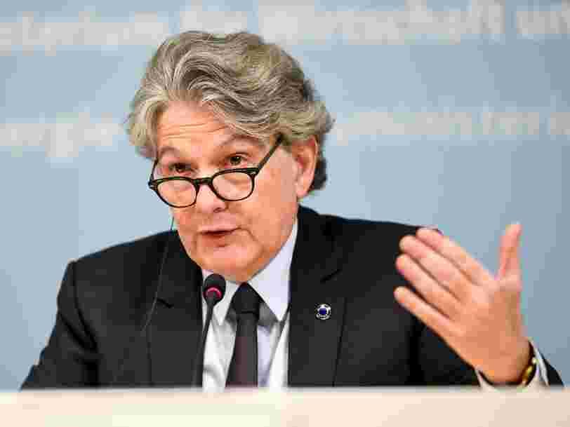 Thierry Breton estime que l'UE doit disposer de sa propre constellation de satellites permettant un accès internet haut débit