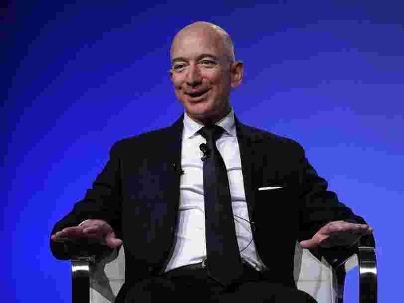 La fortune de Jeff Bezos atteint un nouveau record