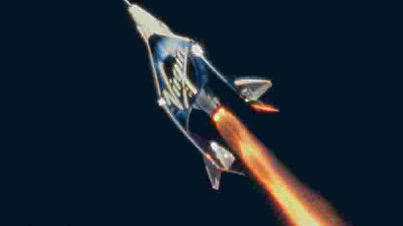 Virgin Galactic va dévoiler la cabine de sa fusée qui emmènera les gens aux confins de l'espace
