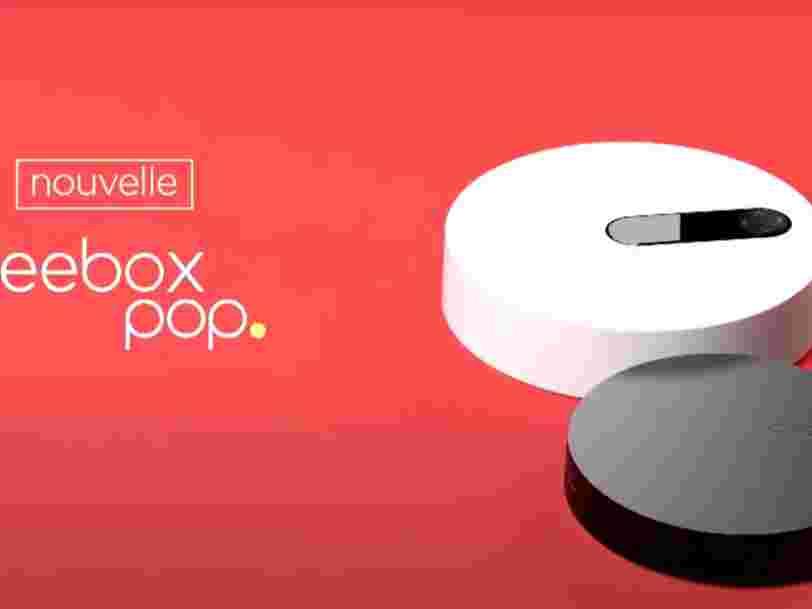 Free dévoile sa nouvelle Freebox Pop, la plus petite du marché