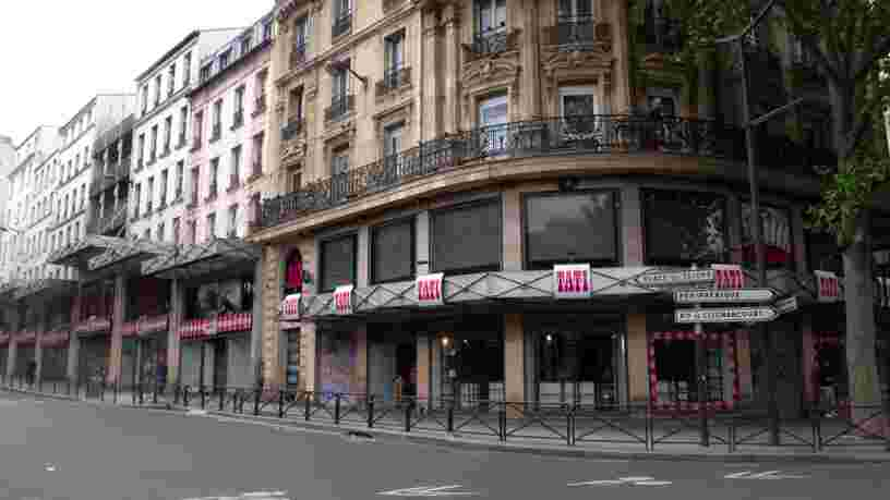 Le dernier magasin de l'enseigne Tati va fermer ses portes à Paris
