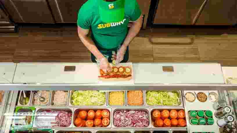 Subway va bientôt proposer des sandwichs au poulet 100% végétal