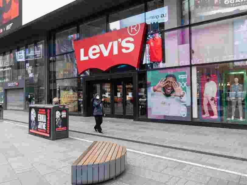 Levi's licencie 700 personnes après la chute de ses ventes de jeans