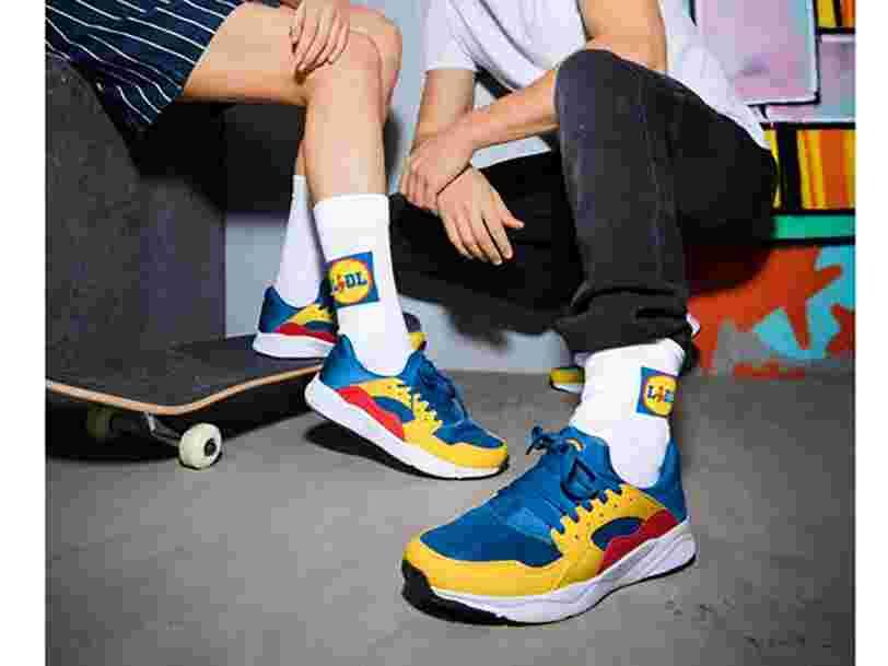 Vous allez pouvoir acheter les sneakers Lidl en France