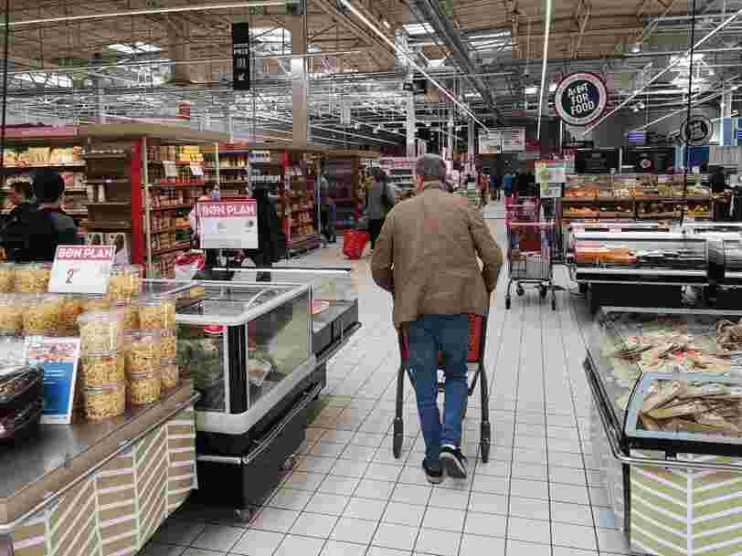 Plus de la moitié des hypermarchés Carrefour ont perdu de l'argent en 2019