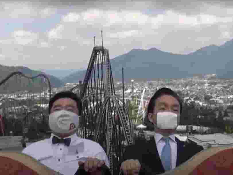 Coronavirus : au Japon, les parcs d'attractions demandent de ne pas crier sur les manèges