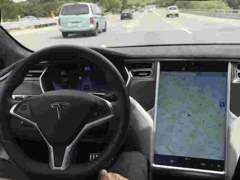 L'approche de Tesla en matière de voiture autonome est très différente de celle de ses concurrents