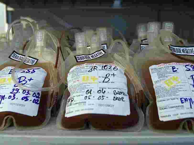 Les personnes de groupe sanguin O seraient légèrement moins susceptibles de contracter le Covid-19