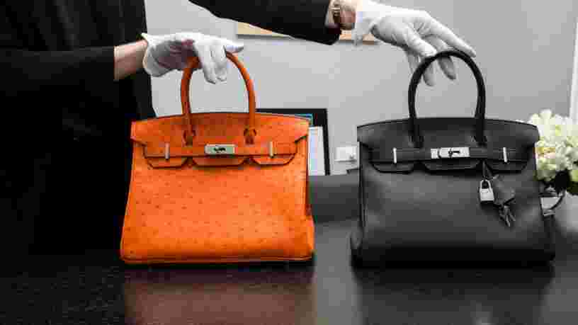 Malle Louis Vuitton, Birkin d'Hermès... découvrez 5 sacs parmi les plus chers jamais vendus aux enchères par Christie's