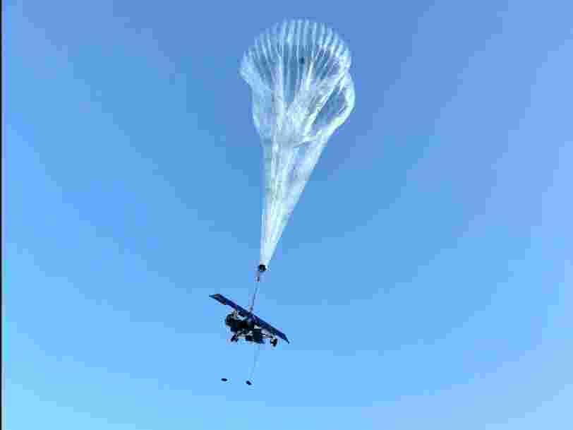 La société-mère de Google développe l'accès à internet au Kenya grâce à des ballons dans la stratosphère