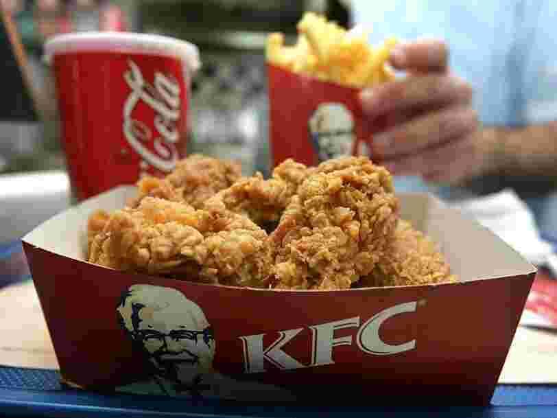 KFC va tester des nuggets de poulet fabriquées avec une bio-imprimante 3D en Russie