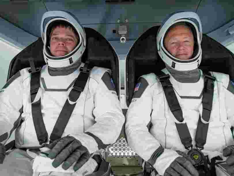 Le retour des astronautes sur Terre début août sera la partie la plus délicate de la mission de SpaceX