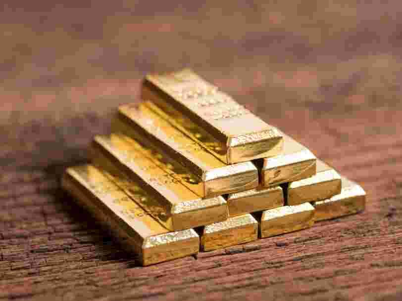 Le cours de l'or vient de dépasser son record historique de 2011