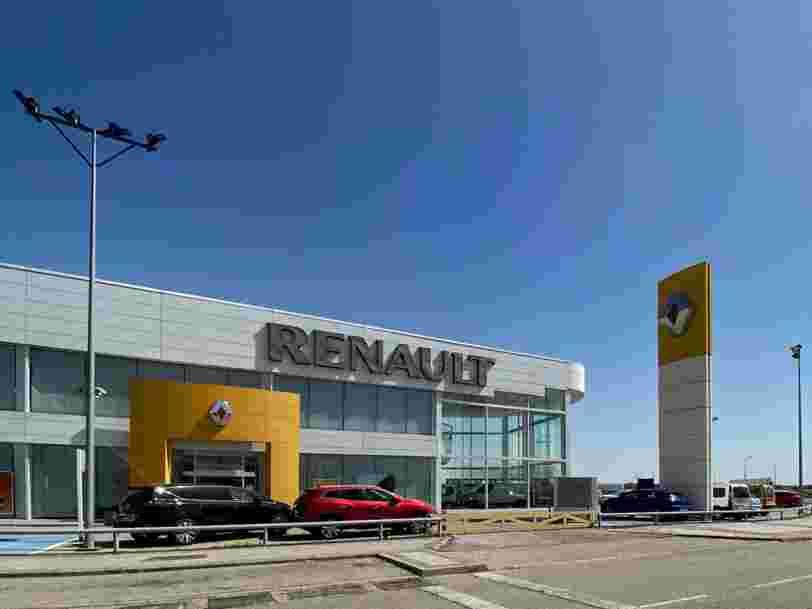 Renault subit une perte historique, la crise sanitaire accentuant ses difficultés