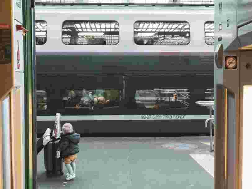Les voyageurs des TGV sont majoritairement de jeunes cadres aisés