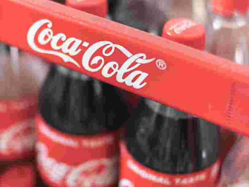 Coca-Cola mise sur sa nouvelle boisson au café