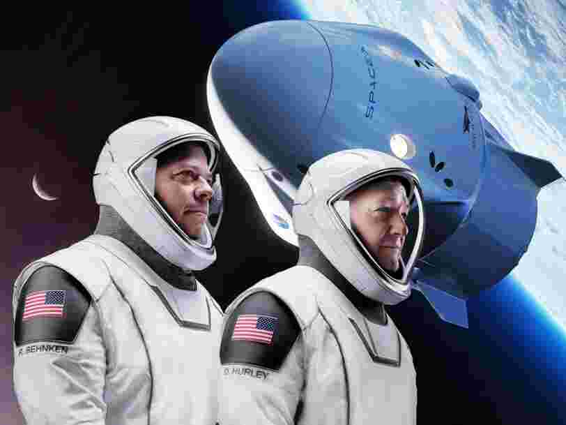Ces 27 photos épiques montrent comment SpaceX est entré dans l'histoire