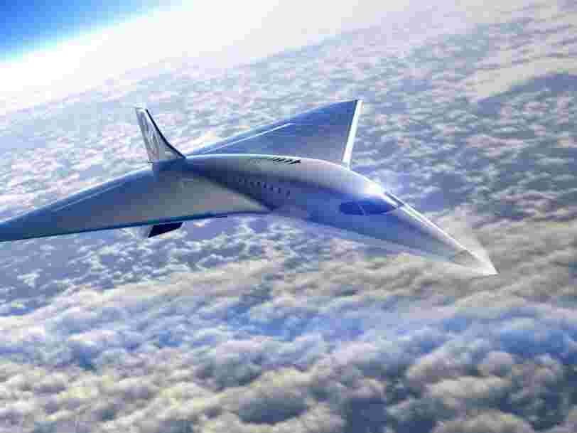 Virgin Galactic vient de révéler un nouveau jet commercial supersonique conçu par Rolls-Royce