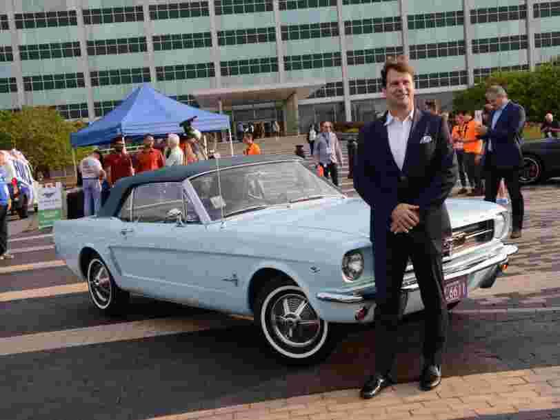 On vous présente le nouveau PDG de Ford, Jim Farley, passionné de voitures de sport