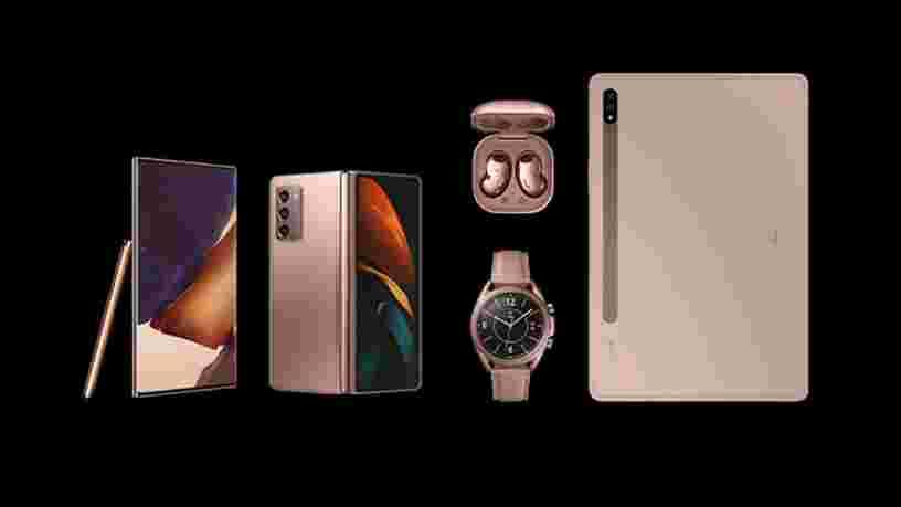 Galaxy Note 20, Galaxy Z Fold2... Voici les principales annonces de Samsung lors de son événement Unpacked