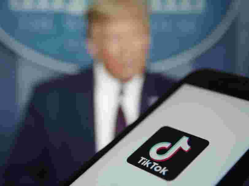 Donald Trump exige un pourcentage de la vente si Microsoft rachète TikTok