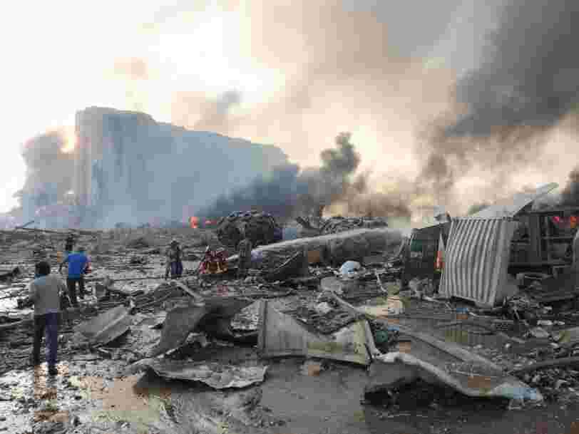 Avant les explosions de Beyrouth, le nitrate d'ammonium avait déjà causé l'explosion de l'usine AZF