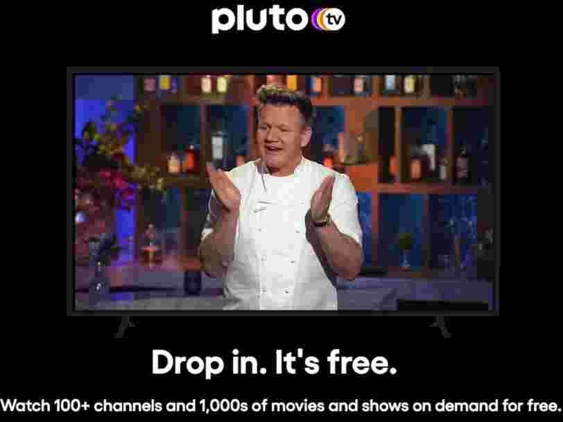 Le service de streaming gratuit Pluto TV va être lancé en France en 2021