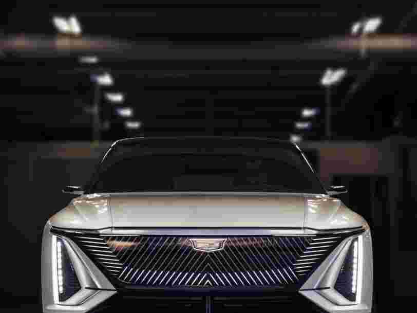 Cadillac dévoile Lyriq, sa première voiture électrique pour défier Tesla