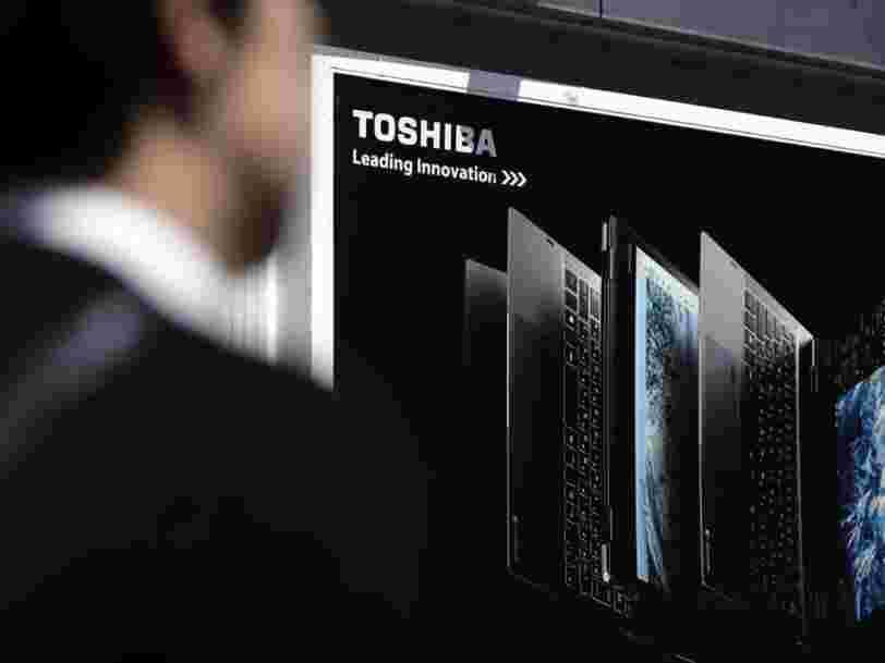 Toshiba ne vendra plus d'ordinateurs portables et cède cette activité à Sharp