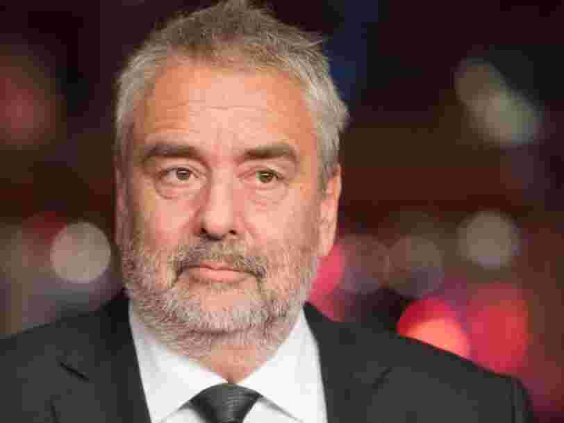 Luc Besson n'est plus DG d'EuropaCorp mais il garde un salaire confortable